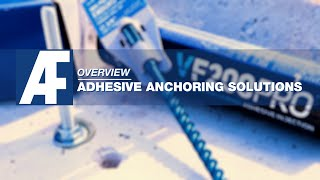 Overview | Adhesive Anchoring