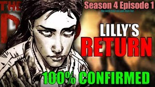 LILLY WILL RETURN! 100% CONFIRMED HINTS| The Walking Dead: The Final Season Episode 1
