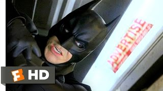 Train Fight  (Movie Clip) - Batman Begins