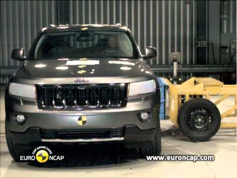 Jeep Grand Cherokee Euro NCAP   Jeep Grand Cherokee   2011   Crash test