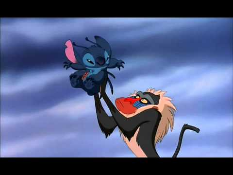 Lilo and Stitch Parody Trailer Hd   The Lion King 720p   VBOX7