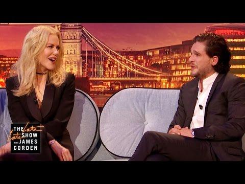 Nicole Kidman Pressures Kit Harington to Pop the Question (видео)