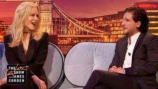 Video Nicole Kidman Pressures Kit Harington to Pop the Question MP3, 3GP, MP4, WEBM, AVI, FLV September 2018