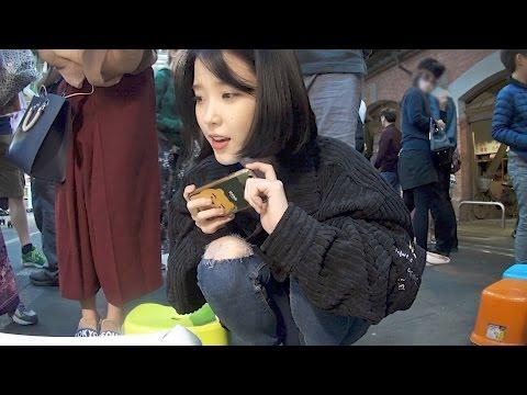 IU逛士林夜市 被韓國遊客說:「長的好像IU喔!」