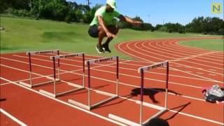 トップアスリートの動きを参考に!パウエル選手の「ハードルジャンプ」