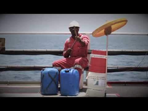 """Africa"" by Toto, Performed by the Crew of the Bourbon Peridot, West Africa 2013."