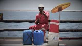 """""""Africa"""" by Toto, Performed by the Oil Rig workers in West Africa"""
