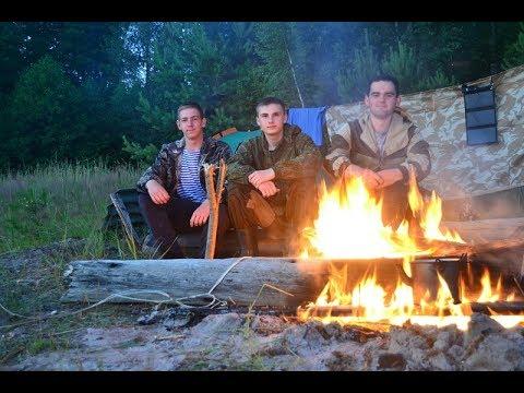Четырехдневный поход по тайге, Шумы, 1 часть (видео)