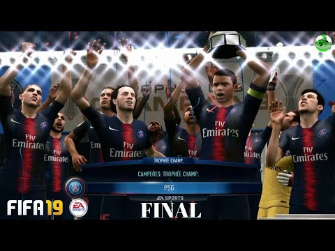 FIFA 19 Xbox 360  PSG X Monaco - A GRANDE FINAL No MODO CARREIRA - LEGACY EDITION - GAMEPLAY Em 720p