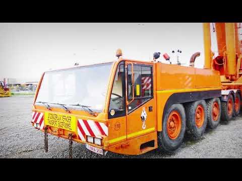 Demag AC700 all terrain crane for sale in Moerdijk (NL)