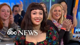 Video Constance Wu dishes on 'Crazy Rich Asians' MP3, 3GP, MP4, WEBM, AVI, FLV Agustus 2018