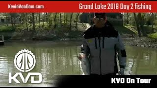 Grand Lake 2018 - day 2 fishing live