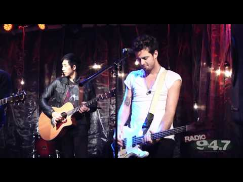 "The Airborne Toxic Event Perform ""Sometime Around Midnight"" Live At RADIO 94.7 In Sacramento"