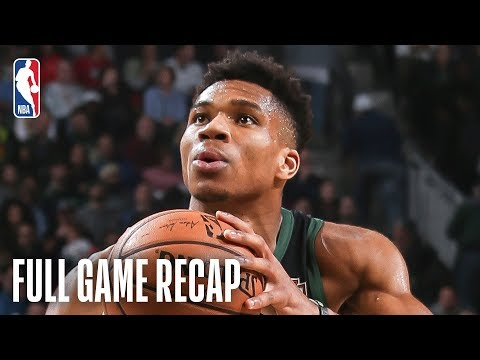 Video: CELTICS vs BUCKS | Down To The Wire Action In Milwaukee | February 21, 2019