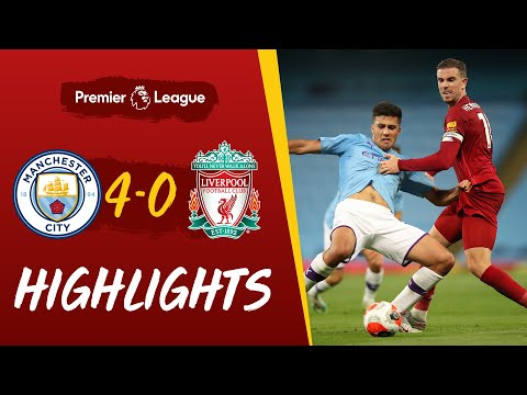 Highlights: Man City 4-0 Liverpool | Reds suffer defeat at the Etihad