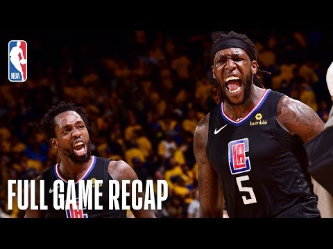 CLIPPERS vs WARRIORS | One Of A Kind HISTORIC Comeback  | Game 2