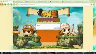 การเข้าเกมส์ Boomz หรือ DDtank เซิฟนอก [1]