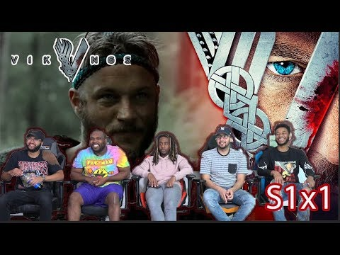 """Vikings Season 1 Episode 1 """"Rites Of Passage"""" Reaction/Review"""
