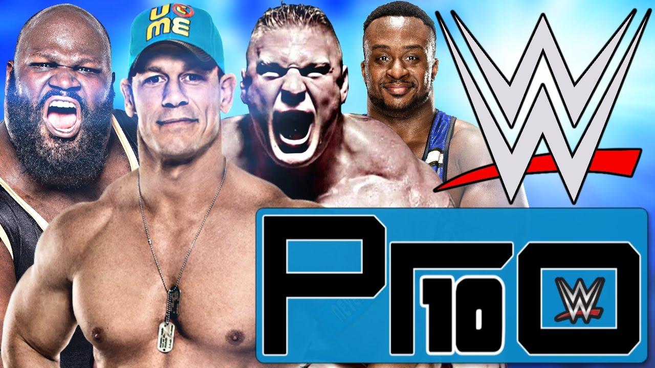 DIE 10 STÄRKSTEN WWE WRESTLER (2016) – Pro10 #38 (Deutsch/German)