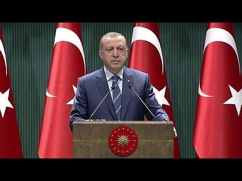 Ερντογάν: O Γκιουλέν είναι τρομοκράτης όπως εκείνοι του ΠΚΚ και του ΙΚΙΛ