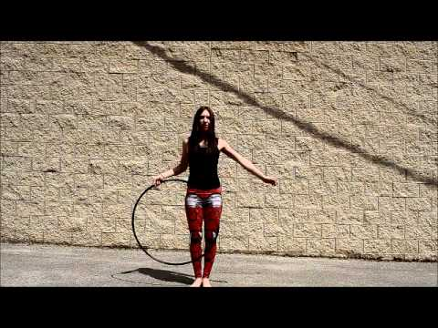 Rachael Lust Shows Off Sick Hula Hoop Skillz