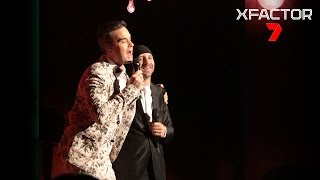 Williams Australia  city pictures gallery : Davey performs 'Angels' with Robbie Williams - The X Factor Australia 2016