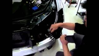 Montaje Kit conversión de faros Bi-xenon LED MERCEDES W221 Clase-S