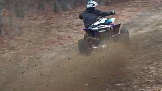 1. 2015 yfz450r playing around