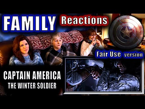 CAPTAIN AMERICA The Winter Soldier | FAMILY Reactions | Fair Use