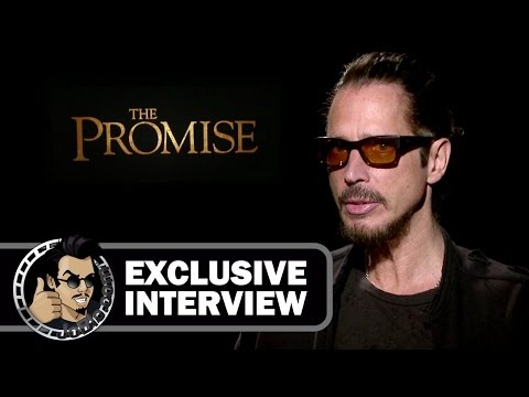 Chris Cornell Exclusive Interview for THE PROMISE (JoBlo.com) 2017