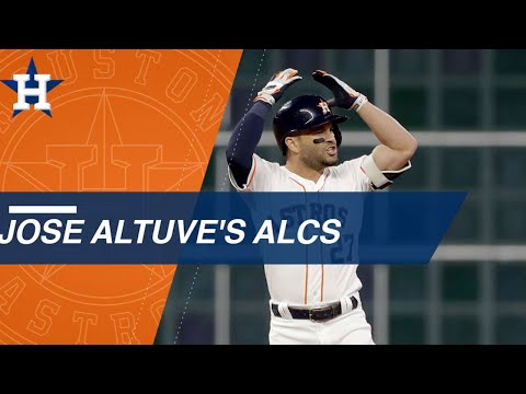 Video: Check out highlights from Jose Altuve's 2018 ALCS
