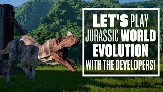 Let's Play Jurassic World Evolution - Jurassic World Evolution PC Gameplay