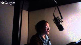 Watch Mary record part of the audiobook for Of Noble Family