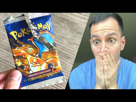 *RISKING IT ALL FOR A $100,000 POKEMON CARD?!* Opening 1st Edition Packs!