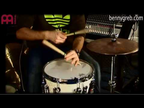 MEINL SAND HAT VIDEO BY BENNY GREB