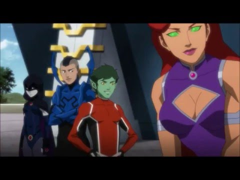 Justice League vs Teen Titans Tribute