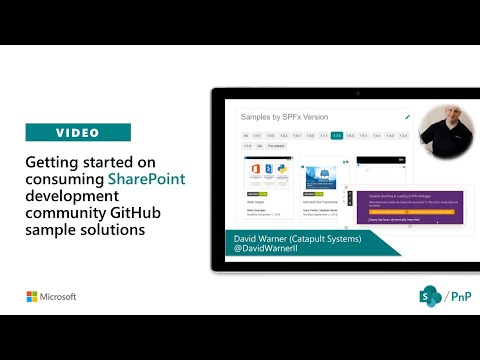 Preview of getting started on consuming SharePoint development community sample solutions