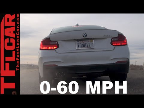 2015 BMW 228i 0-60 MPH Test & Track Review: Fast & Friendly