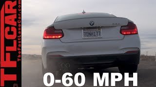 2015 BMW 228i 0-60 MPH Test&Track Review: Fast&Friendly