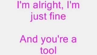 Pink- So What lyrics