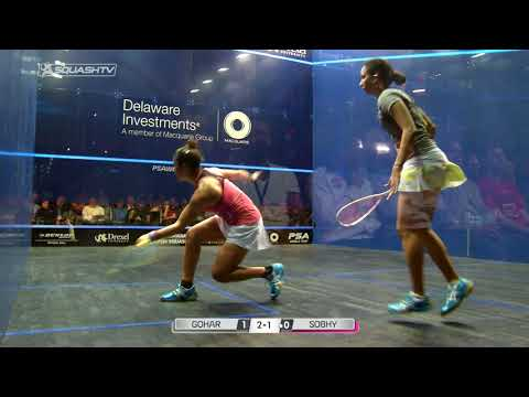Squash tips: Show one shot, play the other...