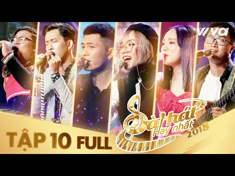 Sing My Song - Bài Hát Hay Nhất 2018 | Tập 10 Full HD Vòng Giải Cứu: Gin Tuấn Kiệt lột xác ngoạn mục - Thời lượng: 1:37:03.