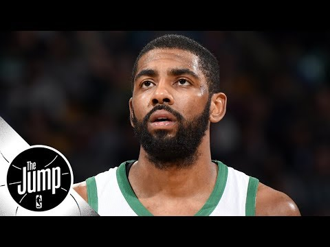 Is Kyrie Irving's shoulder injury a concern for Celtics? | The Jump