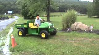 6. John Deere 4X2 Gator Power Dump Only 305 Hours Very Nice For Sale