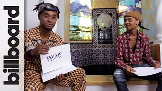 """Video Rae Sremmurd's Swae Lee & """"Slim Jimmi Play 'How Well Do You Know Your Brother?' 