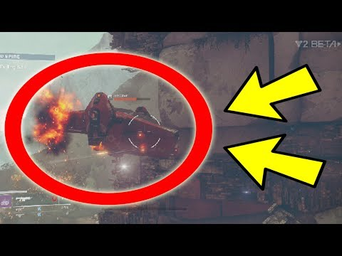 CAN YOU DESTROY ENEMY SHIPS IN DESTINY 2? (Unbelievable)