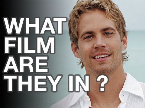 movieclipsGAMES - Interactive game where you look at 15 movieclips simultaneously and try to decide which movie features the listed actor, in this case Paul Walker.