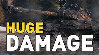Highest Damage I've seen in World of Tanks!