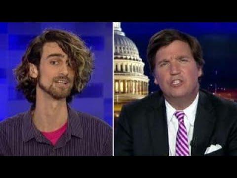 Tucker vs Antifa supporter: Are you really a professor?