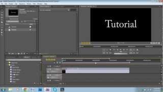 Video How to make a Basic Intro in Adobe Premiere Pro MP3, 3GP, MP4, WEBM, AVI, FLV Desember 2018